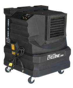 Cyclone 2000 evaporative cooler - 46 sq m - Click for larger picture