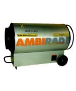 Ambirad Tornado 51 kW - Space Heater - Click for larger picture